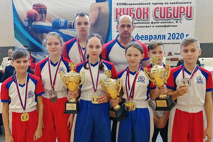 Беловские спортсмены завоевали призовые места на Всероссийском турнире по кикбоксингу