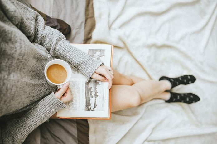 Выходной, релакс, отдых, кофе, книга
