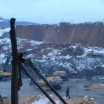 obvОбвал породы в карьере поселка Урск Гурьевского района завалил человека, 15 февраля 2020 г