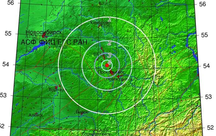 Землетрясение Красный Брод, 26 февраля 2020 г