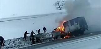 Смертельное ДТП. 28 февраля на трассе «Ленинск-Кузнецкий — Новокузнецк» столкнулись Газель и Тойота