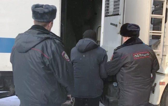 Арестант, автозак, задержанный, полиция