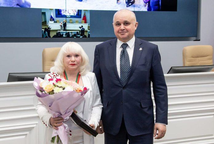 Гендиректор телерадиокомпании «ТВМ» города Белово Мария Халетина награждена Орденом Почета Кузбасса