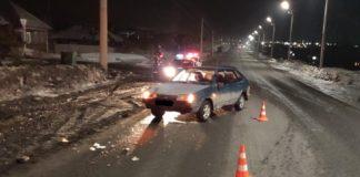 В Грамотеино пьяный водитель сбил пешехода, 16 марта 2020 г