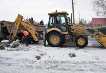 Чистка ливневой канализации, Белово, весна 2020
