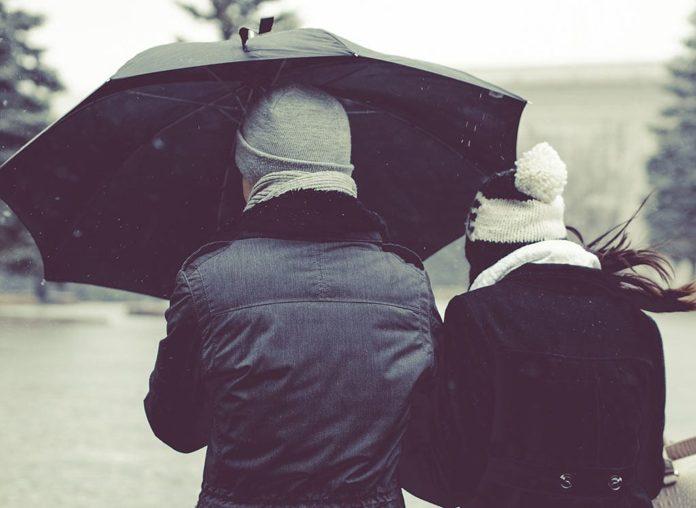Дождь, ветер, весна, осень, зонт