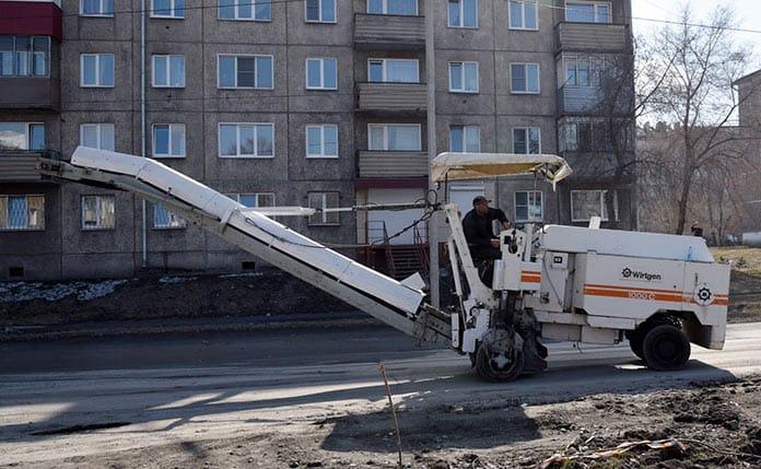 В Белове начался ремонт дорог. Апрель 2020 г