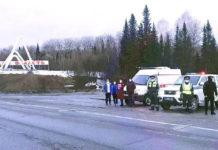 Контрольно-пропускной пункт на дороге Алтай-Кузбасс