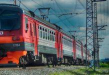 Электричка, поезд, Кузбасс-пригород