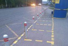 Соблюдение дистанции на остановках