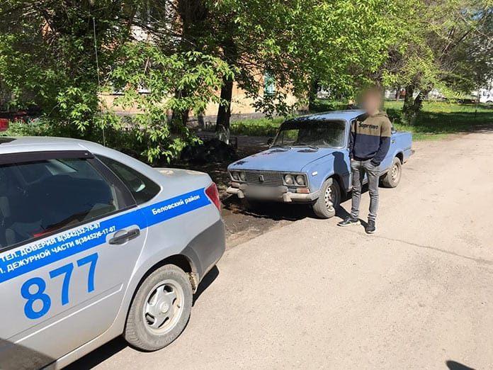 В Беловском районе задержали двух несовершеннолетних водителей