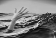 Утопающий, рука, утонул, помогите