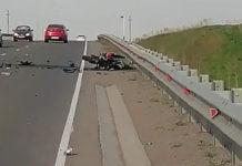 На дороге Бачатский-Старобачаты насмерть разбился мотоциклист, 17 мая 2020 г