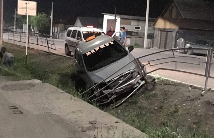 ДТП Белово 19 мая 2020 г. Машина такси