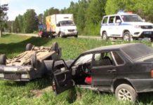 ДТП на 36 км автодороги «Белово – Гурьевск – Салаир»