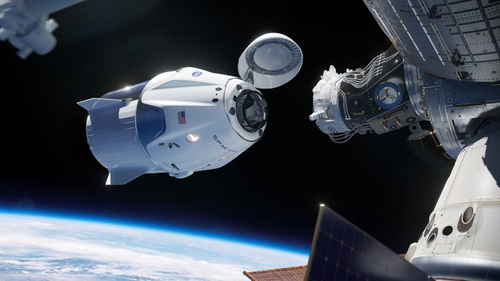 Crew Dragon Endeavour стыкуется с МКС