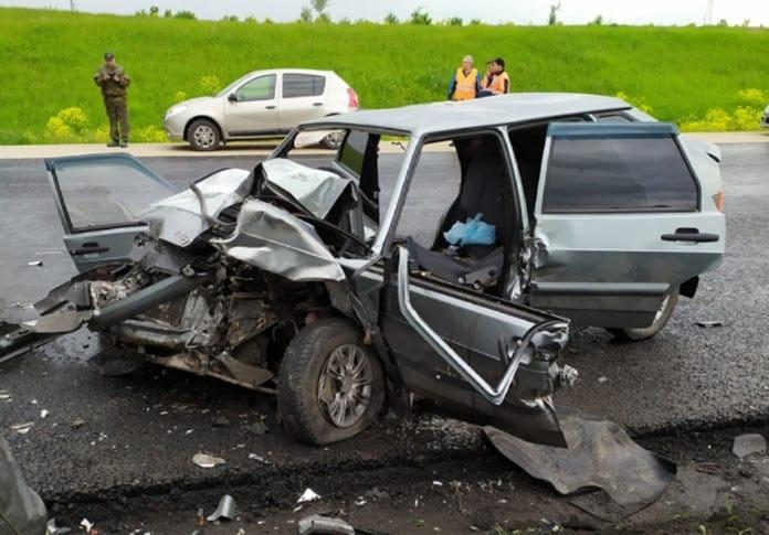18-летняя девушка погибла в ДТП на трассе в Беловском районе, 31 мая 2020 г