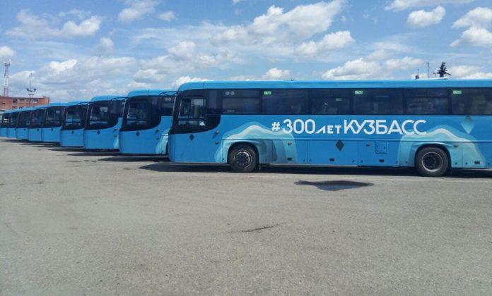 Новые автобусы НЕФАЗ