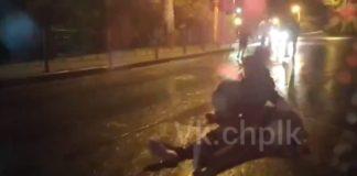 Массовая драка на дороге, Ленинск-Кузнецкий, 7 июня 2020 г
