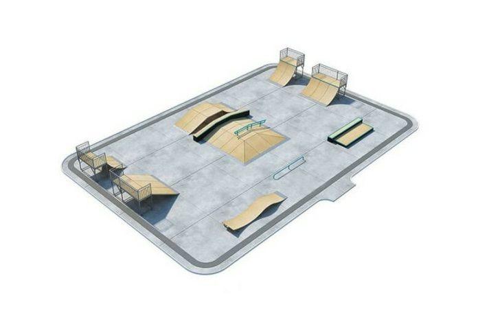 Скейт-парк в Белово