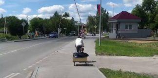 Велорикша в Гурьевске