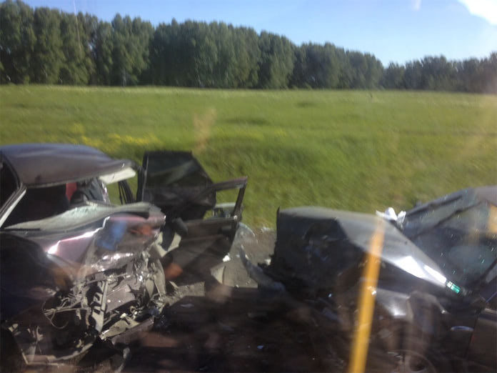 Семь человек пострадали в ДТП в Беловском районе, 16 июня 2020 г