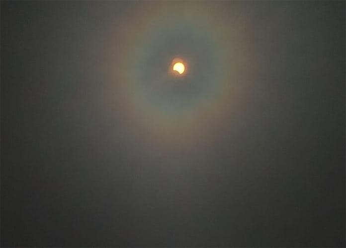 Солнечное затмение 21 июня 2020 г, Белово, Инской
