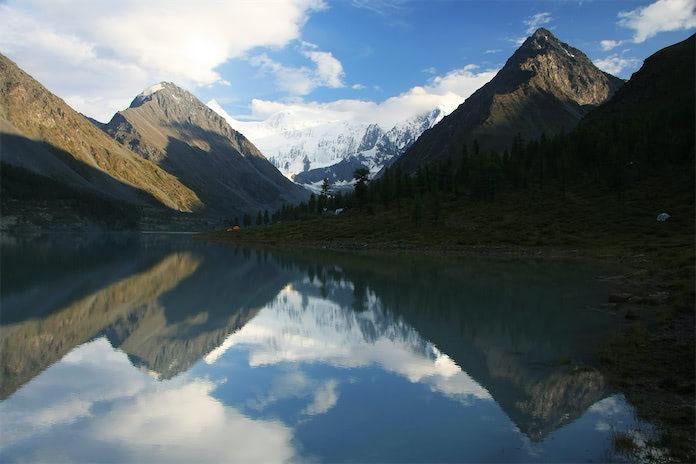 Горный Алтай, озеро, горы