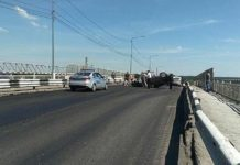 ДТП в Белово на железнодорожном мосту, пьяный водитель, 23 июня 2020 г
