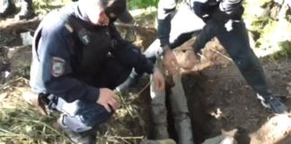 Следственный эксперимент. В Бачатском убили молодую женщину