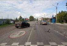 ДТП Белово, в Грамотеино столкнулись две легковушки, 16 августа 2020 г