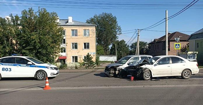 ДТП Белово, 19 августа 2020 г. Трое пострадали