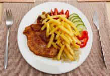 Продукты, еда, картошка, мясо