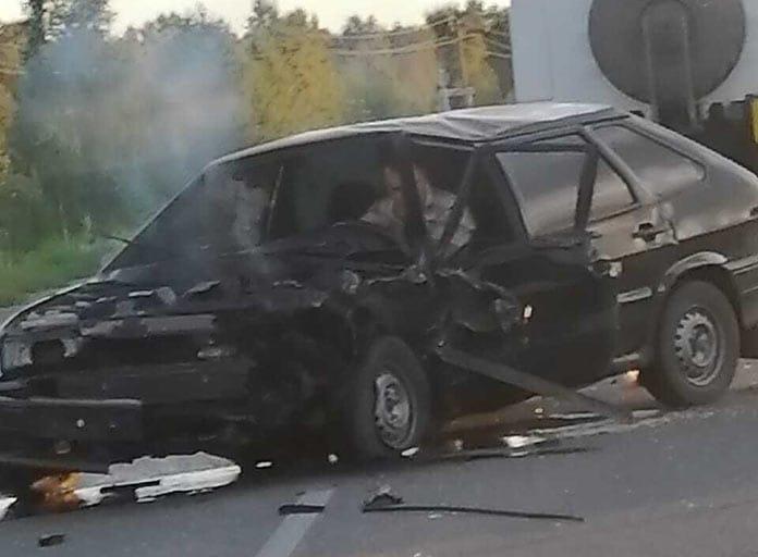 ДТП Белово, на дороге Бачатский-Финский, 4 сентября 2020 г