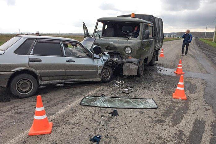 ДТП Белово. В селе Каракан в ДТП пострадали пять человек, 9 сентября 2020 г