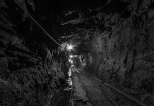 Шахта, туннель, железная дорога
