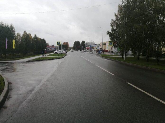 ДТП Бачатский, Белово. Автомобиль сбил пенсионерку, 19 сентября 2020 г