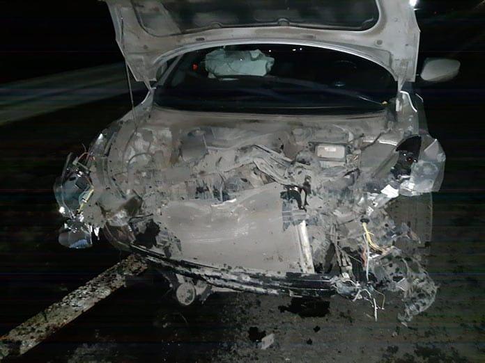 ДТП Белово, женщина-водитель получала травмы, 24 сентября 2020 г