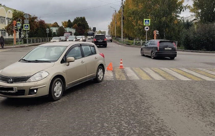 ДТП Белово. Автомобиль сбил женщину на переходе, 25 сентября 2020 г