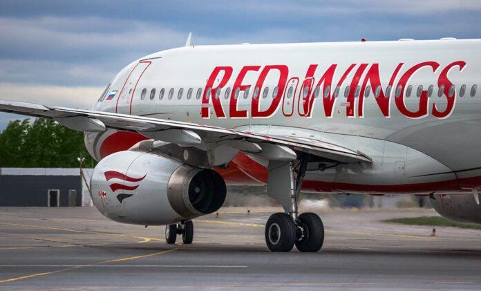 Самолет, аэропорт, Red Wings