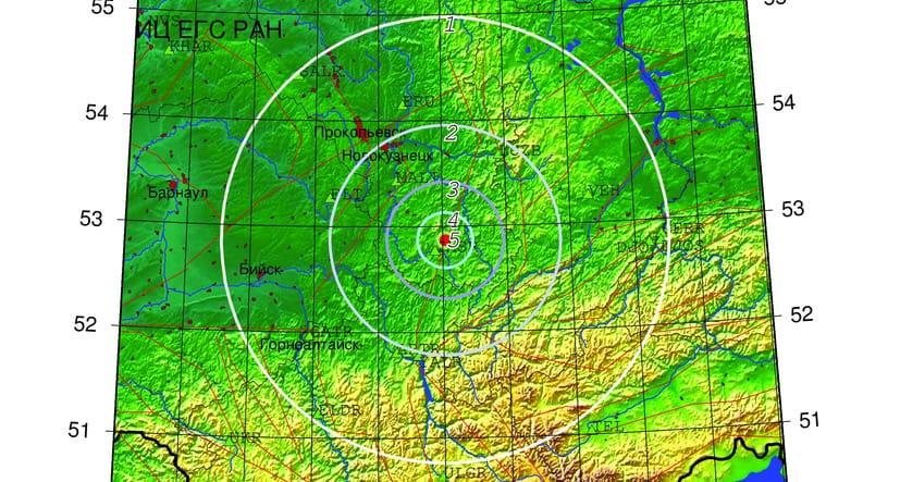 Землетрясение, Шерегеш, 16 октября 2020 г
