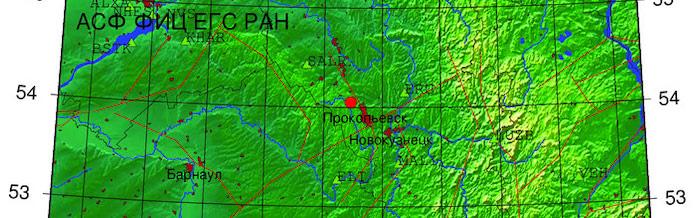 Землетрясение в Прокопьевском районе, 4,8 балла. 18 октября 2020 г