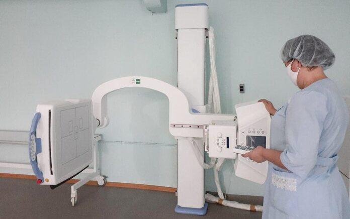 Цифровой рентген установили в детской больнице в Белове