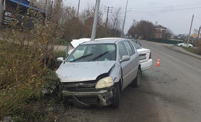 ДТП произошло 23 октября в Белово на переулке Цинкзаводском