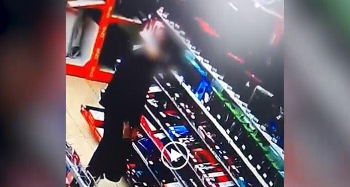 Беловский подросток обокрал магазин с помощью «хитрого» рюкзака