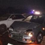 ДТП Белово. Столкнулись три автомобиля на новокузнецкой трассе