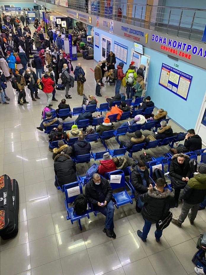 Коллапс в новокузнецком аэропорту, декабрь 2020 г