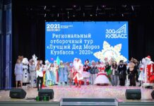 Лучший Дед Мороз Кузбасса - 2020