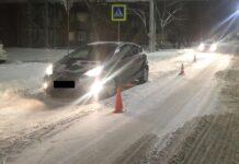 В Белове на пешеходном переходе сбили подростка, 16 декабря 2020 г