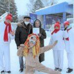 В Белово открыли ледовый городок, 23 декабря 2020 г